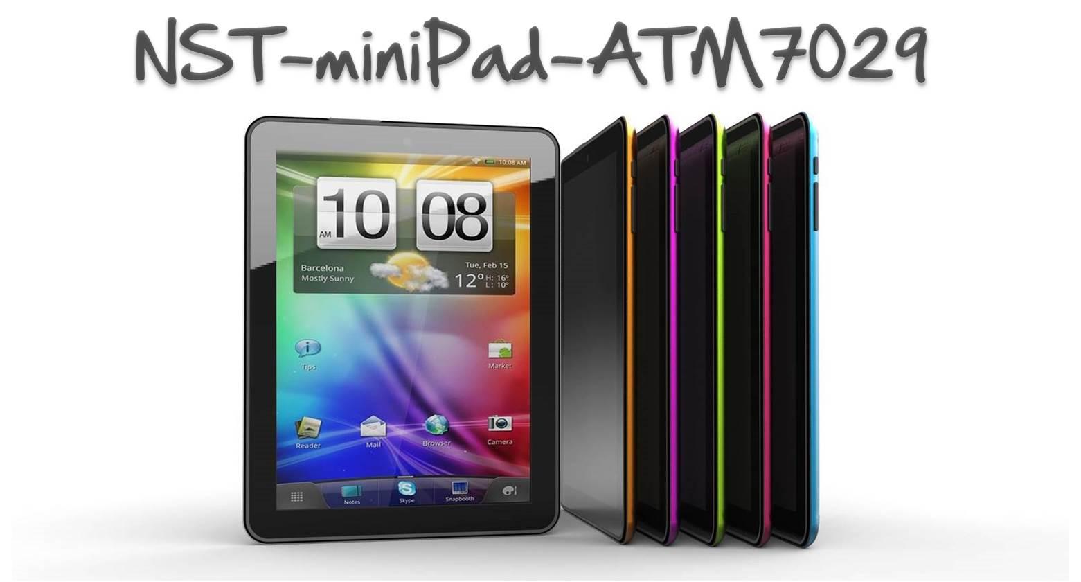 Προσφορά SaleTime - TABLET NST-miniPad-8 - Tablet NST-miniPad- 8 ιντσών- 8GB, με 4πύρηνο επεξεργαστή quad core, 4πύρηνη κάρτα γραφικών, Android OS 4.1.1 και Δώρα extra ζε...