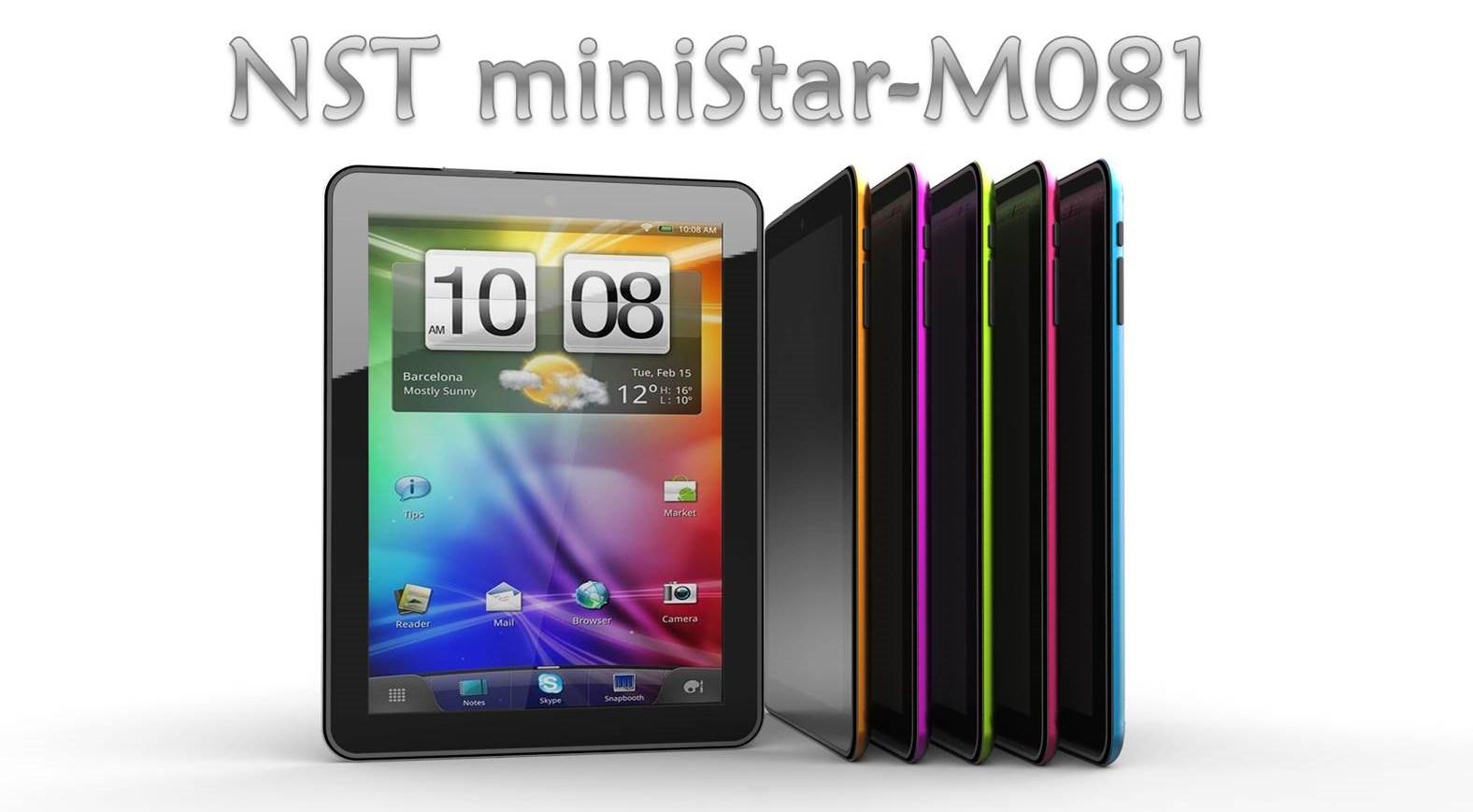 Προσφορά SaleTime - NST MINI STAR -Μ081 - Ολοκαίνουργιο μοντέλο Tablet NST-mini Star M081- 8 ιντσών- 8GB, με 2πύρηνο επεξεργαστή dual core, Bluetooth, 4πύρηνη κάρτα γραφι...