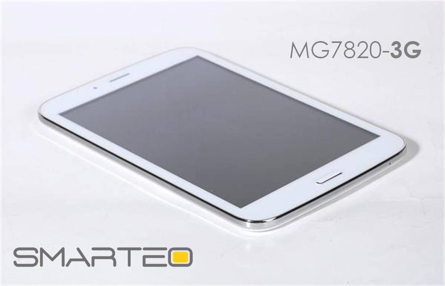 Προσφορά SaleTime - Tablet 3G-MG7820 - Ολοκαίνουργιο μοντέλο Tablet Smarteo MG-7820-3G 7,85 ιντσών- 8GB μνήμη, με 2πύρηνο επεξεργαστή 1,5GHZ, Τηλέφωνο και 3G, Βluetooth κ...