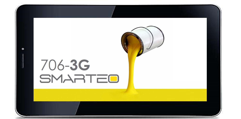 Προσφορά SaleTime - SMARTEO-706-3G - Το φθηνότερο 3G tablet της Αγοράς ! Ειδική Χριστουγεννιάτικη προσφορά για το SMARTEO-706-3G με 2 κάρτες SIM,οθόνη 7 ιντσών, ελαφρύ, κ...